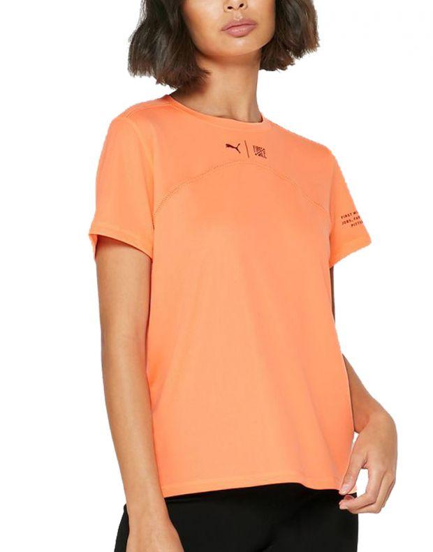 PUMA x First Mile Running Tee Orange - 519011-03 - 1