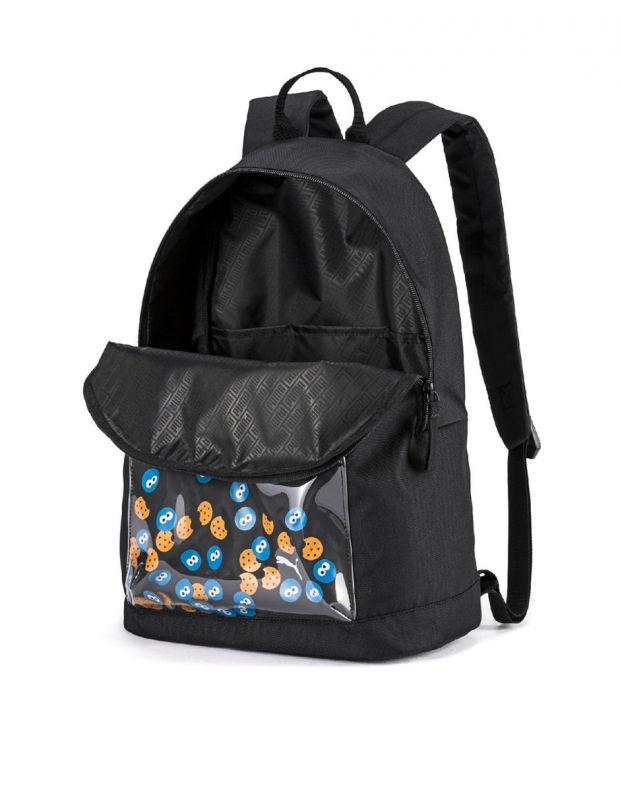 PUMA x Sesame Street Sport Kids Backpack Black - 076654-01 - 3