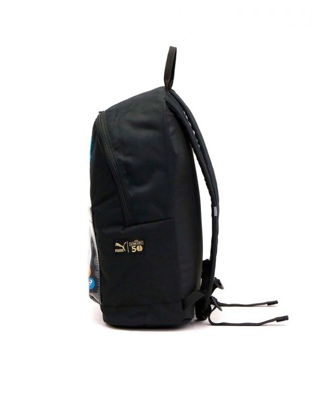 PUMA x Sesame Street Sport Kids Backpack Black - 076654-01 - 4