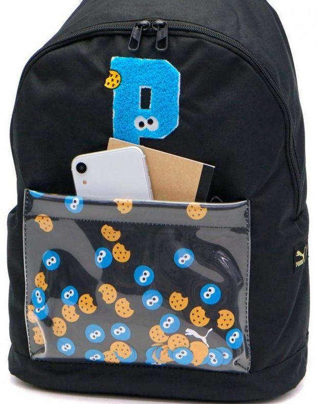 PUMA x Sesame Street Sport Kids Backpack Black - 076654-01 - 5