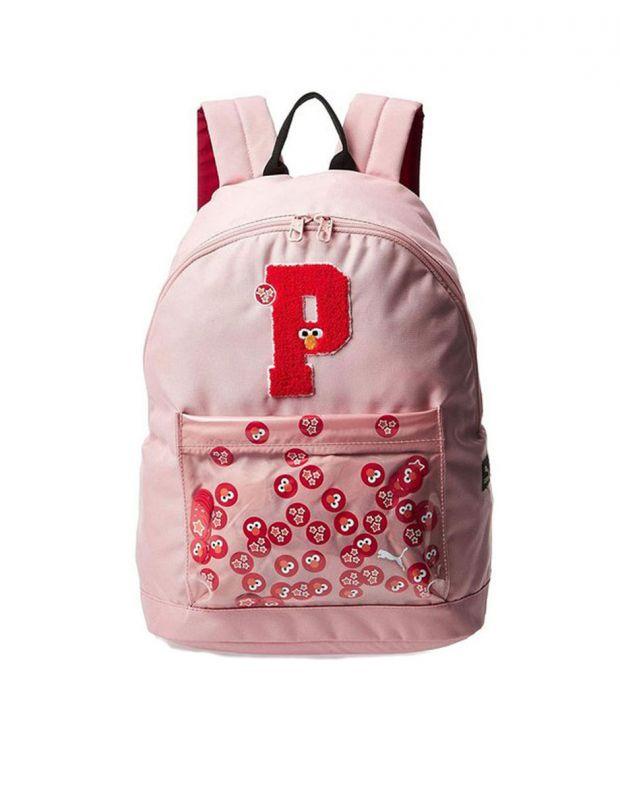 PUMA x Sesame Street Sport Kids Backpack Pink - 076654-02 - 1