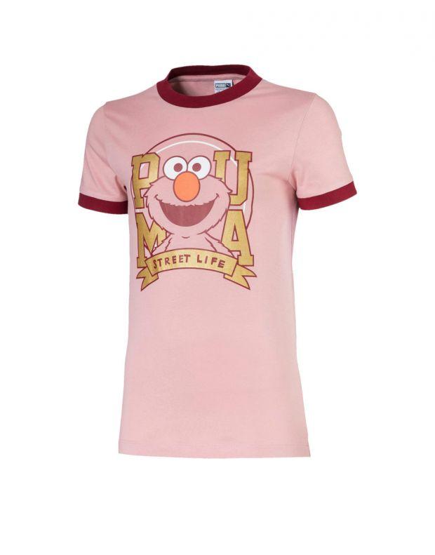 PUMA x Sesame Street Tee Pink - 580379-14 - 1