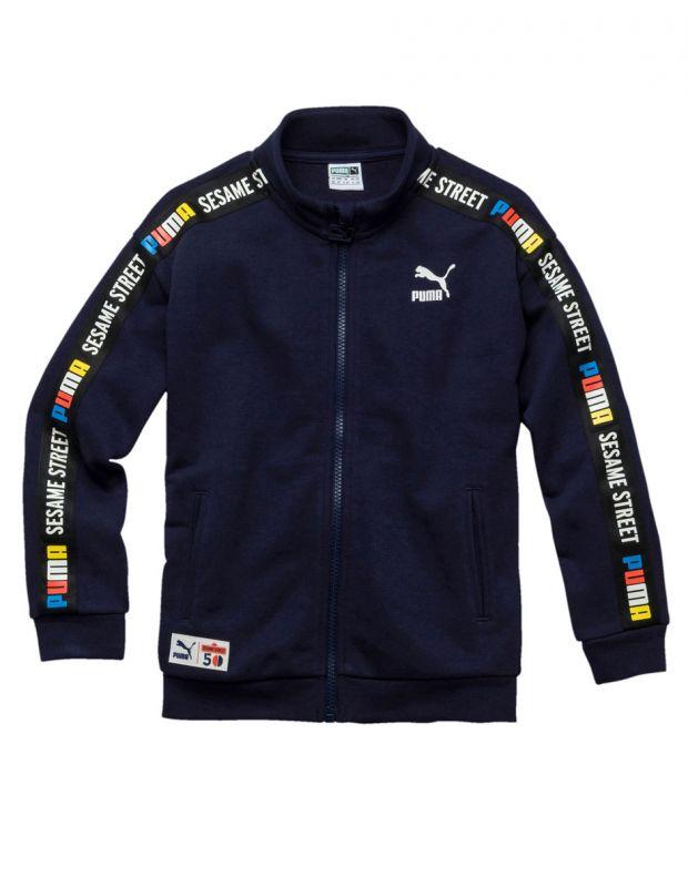 PUMA Sesame Street Track Jacket Navy - 854480-06 - 1