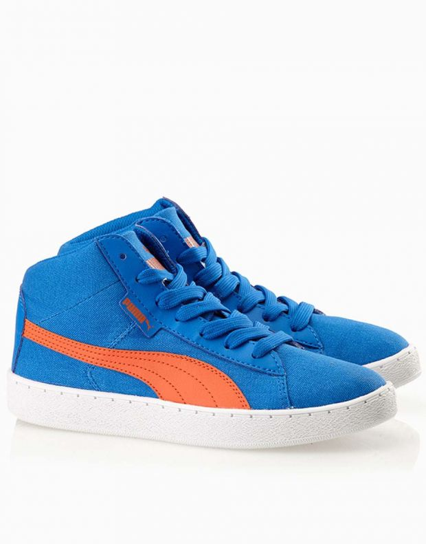 PUMA '48 Mid Canvas Jr Blue - 358202-01 - 2