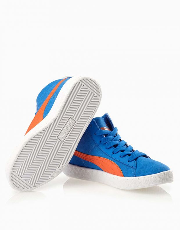 PUMA '48 Mid Canvas Jr Blue - 358202-01 - 4