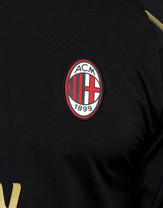 PUMA AC Milan 1/4 Zip Top Zipped Pockets - 4