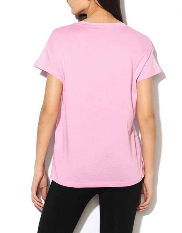 PUMA Active Logo Tee Pink - 852006-21 - 2