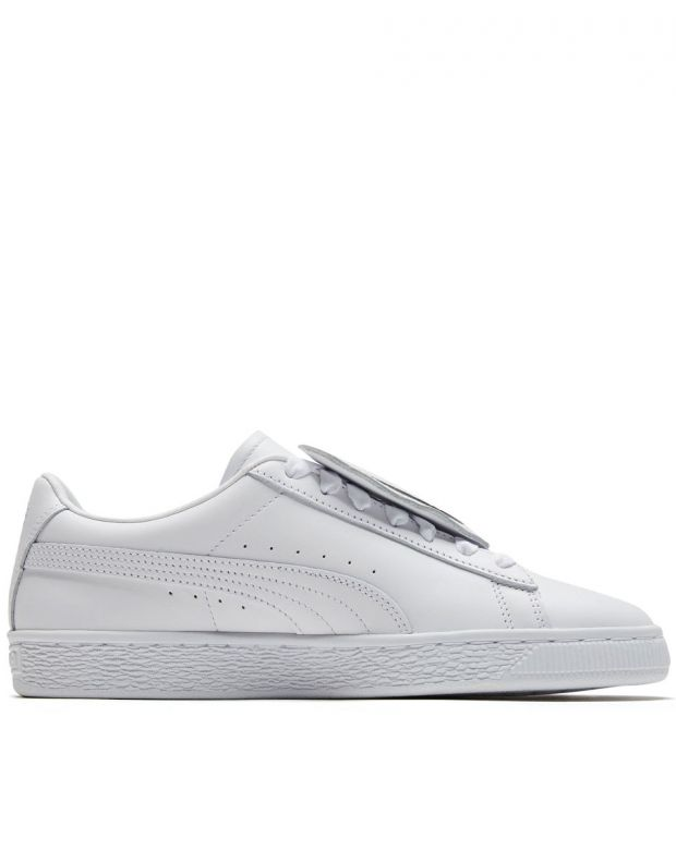 PUMA Basket Badge White - 370190-01 - 2