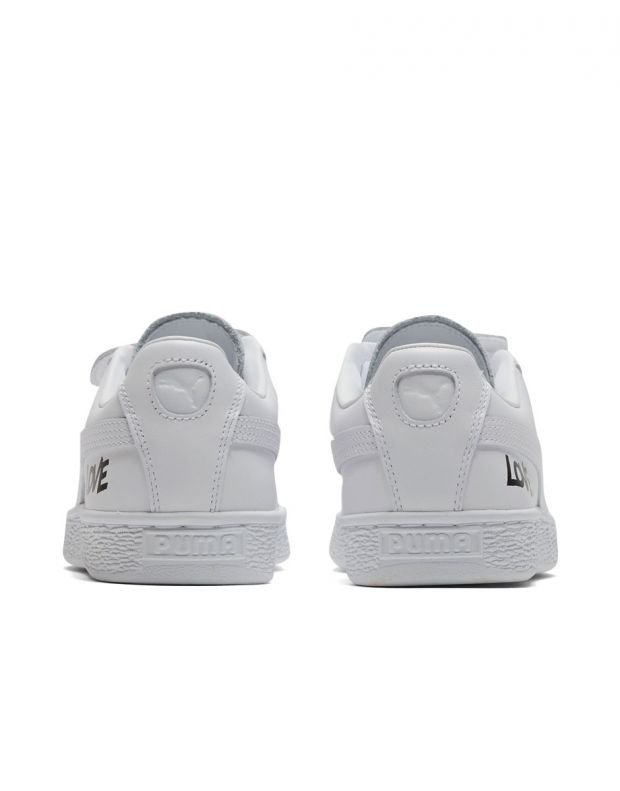 PUMA Basket Badge White - 370190-01 - 5