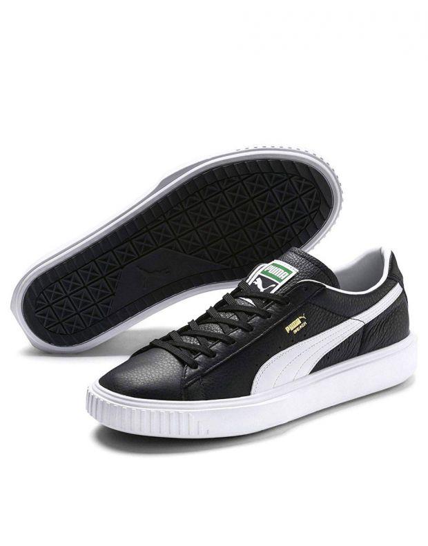 PUMA Breaker Leather Black - 366078-01 - 3