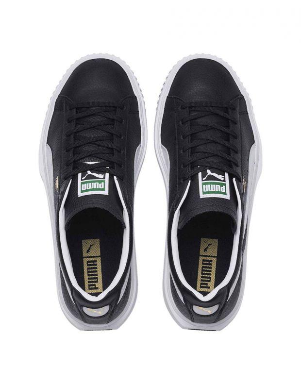 PUMA Breaker Leather Black - 366078-01 - 4