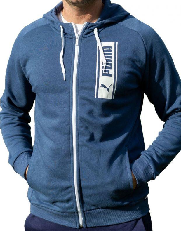 PUMA DKT Hoodie Blue - 583154-43 - 1