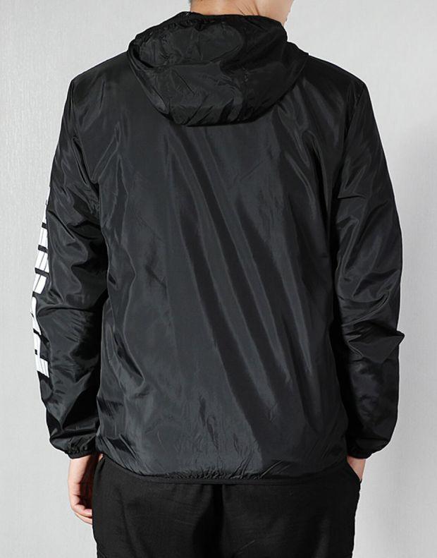 PUMA Graphic Full Zip Rain Jacket Black - 580836-01 - 2