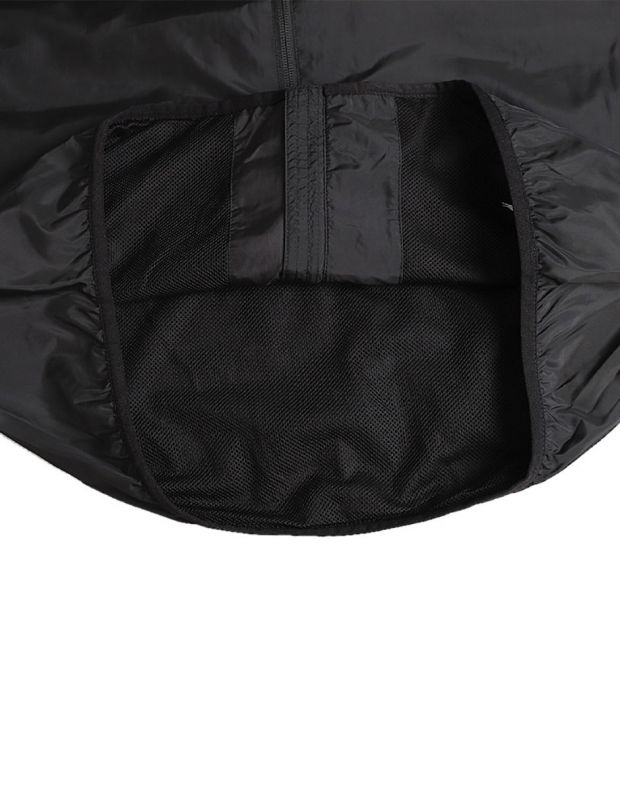 PUMA Graphic Full Zip Rain Jacket Black - 580836-01 - 4