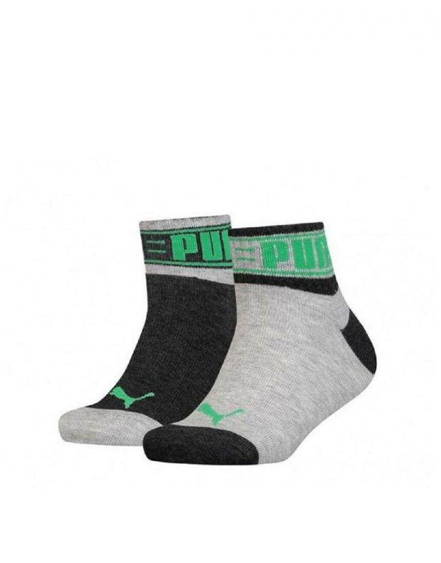 PUMA Kids Quater Soft Cotton Socks Sports GG - 1