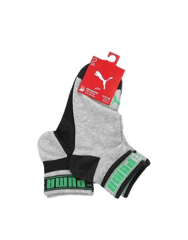 PUMA Kids Quater Soft Cotton Socks Sports GG - 2