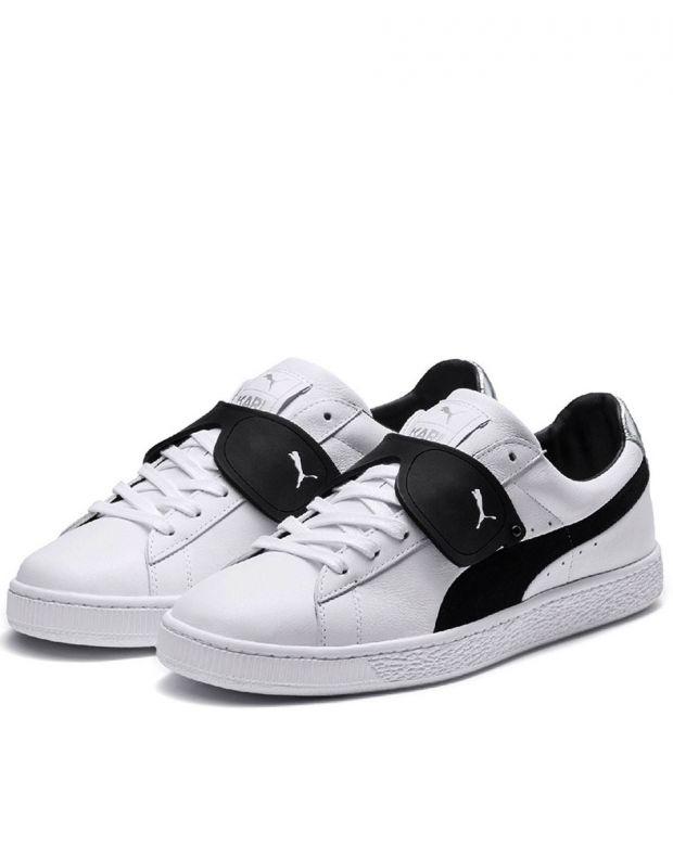 PUMA Suede Classic x Karl Lagerfeld White - 366314-01 - 2