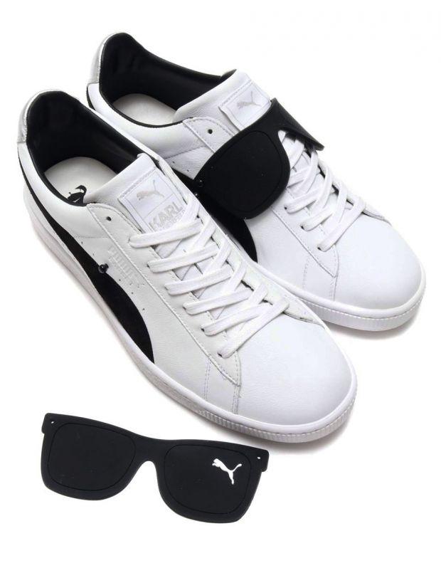 PUMA Suede Classic x Karl Lagerfeld White - 366314-01 - 5