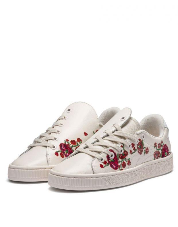 PUMA X Sue Tsai Basket Cherry Bombs White - 369387-01 - 3
