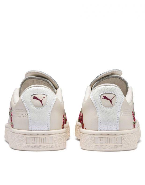PUMA X Sue Tsai Basket Cherry Bombs White - 369387-01 - 4