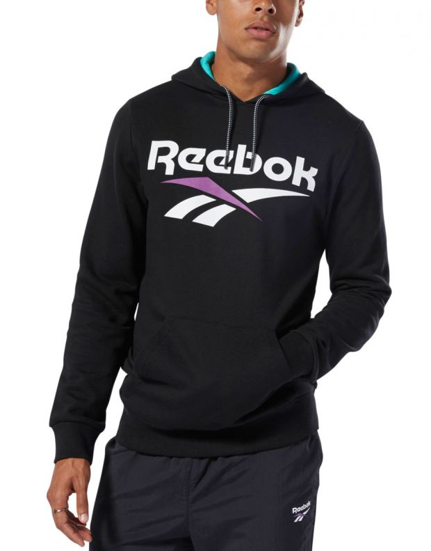REEBOK Classics Vector Hoodie Black - DX3832 - 1