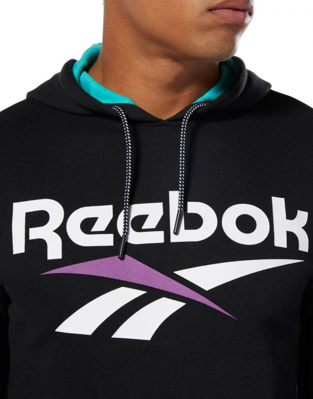REEBOK Classics Vector Hoodie Black - DX3832 - 3