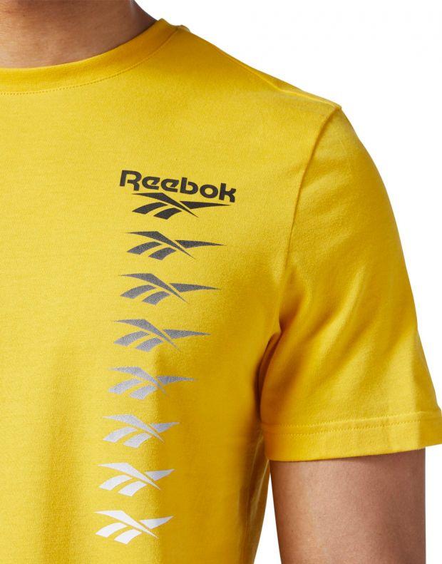 REEBOK Classics Vector Tee Yellow - EB3609 - 4
