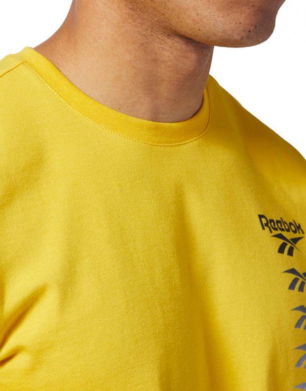REEBOK Classics Vector Tee Yellow - EB3609 - 6