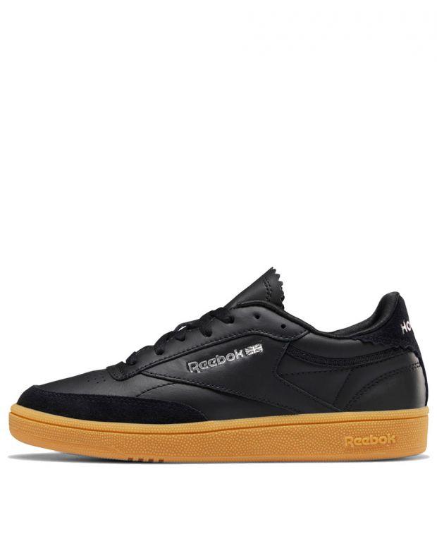 REEBOK Club C 85 Shoes Black - DV7149 - 1