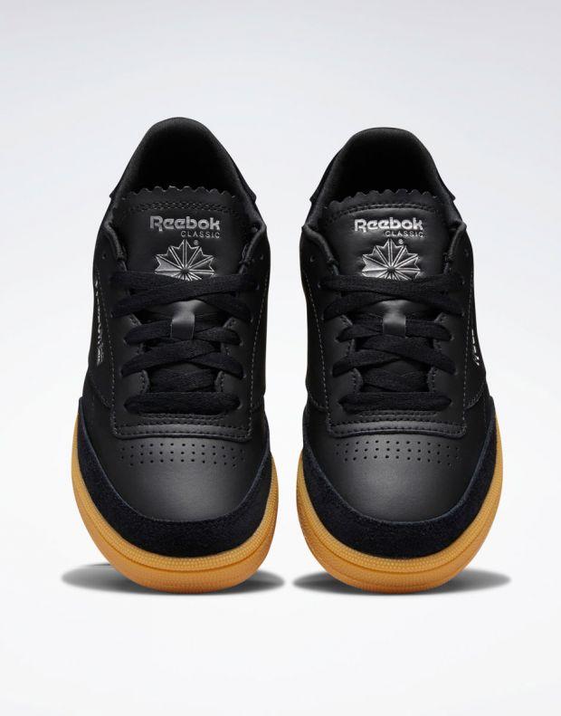 REEBOK Club C 85 Shoes Black - DV7149 - 6