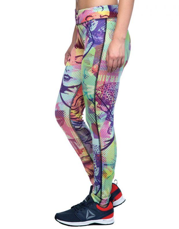 REEBOK Comic Clash Speedwick Leggings Multicolor - B45933 - 3