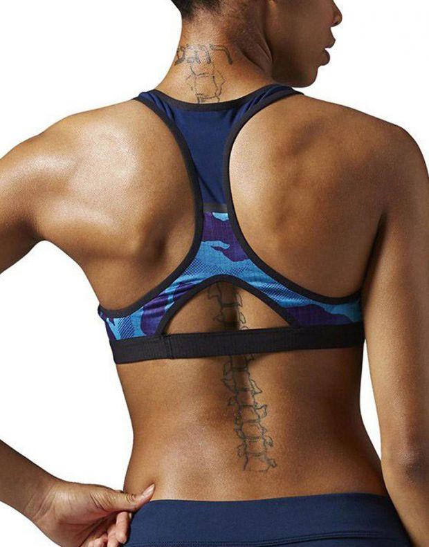 REEBOK CrossFit Racer Bra Blue - AP9627 - 2