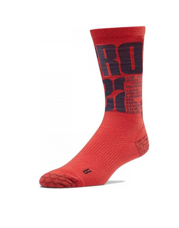 REEBOK Crossfit Crew Socks Red - EC5724 - 1