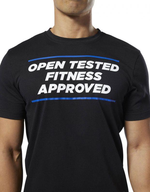 REEBOK Crossfit Open Tested Tee Black - DY0483 - 3