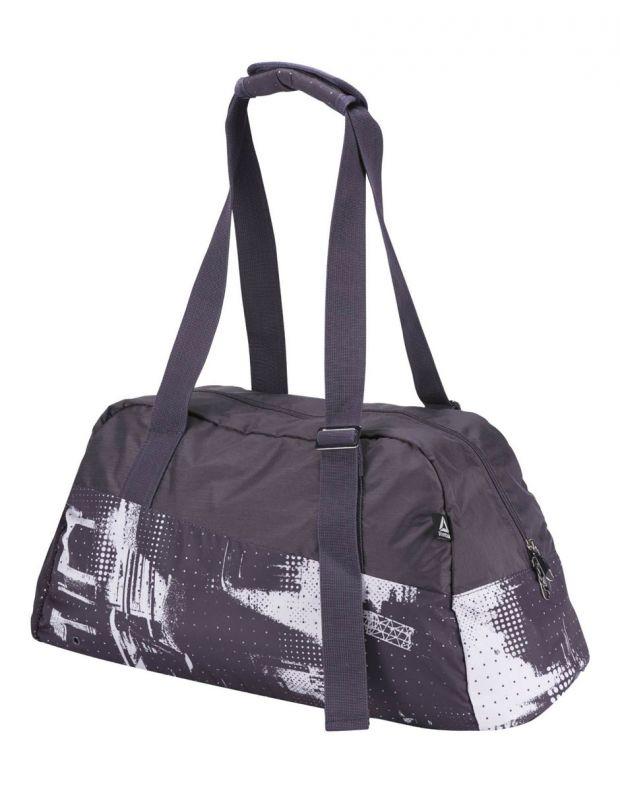 REEBOK Enhanced Lead & Go Graphic Grip Bag Grey - CD7321 - 2