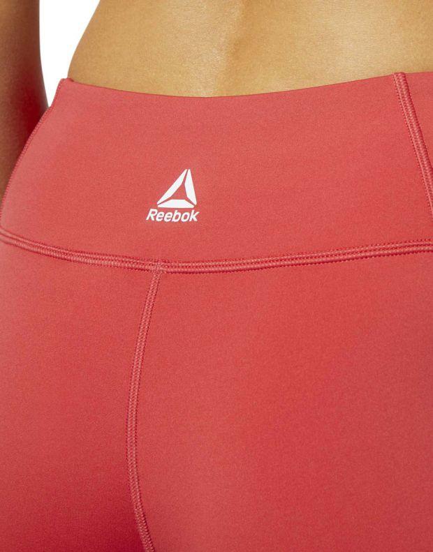 REEBOK Linear Logo Leggings Red - FI4803 - 4