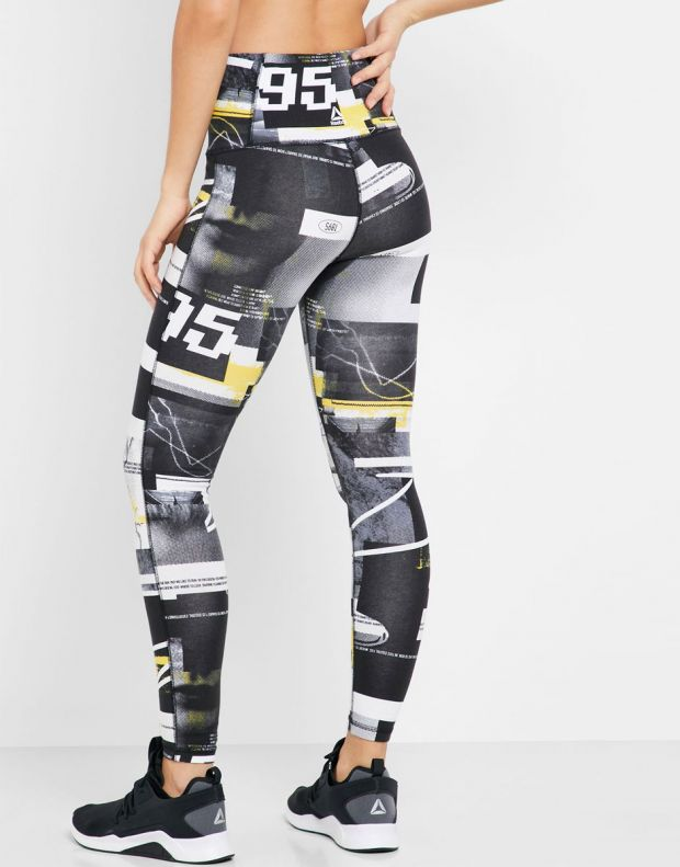 REEBOK Meet You There Cotton Leggings Multi - EJ5986 - 2