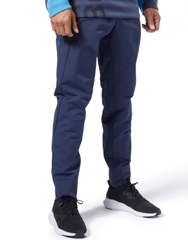 REEBOK One Series Training Colorblock Pants Navy - EC0997 - 1