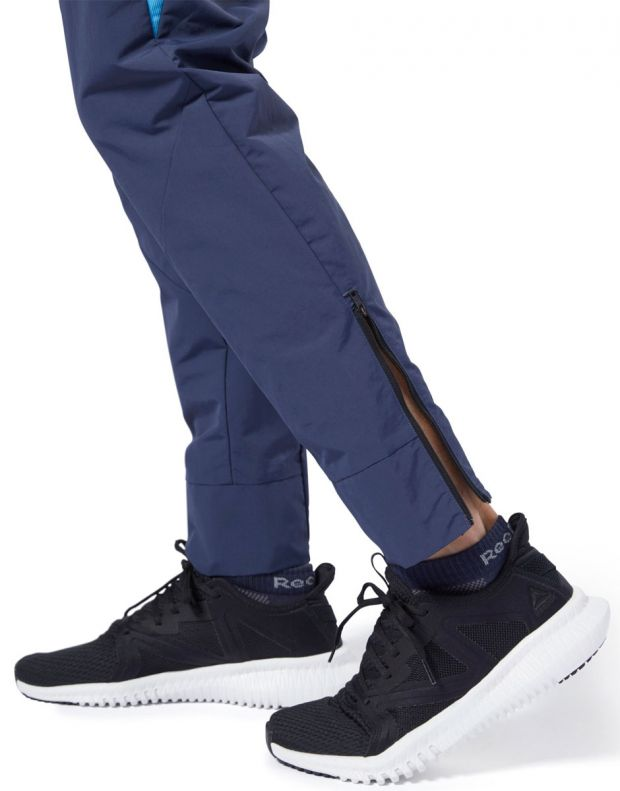 REEBOK One Series Training Colorblock Pants Navy - EC0997 - 6