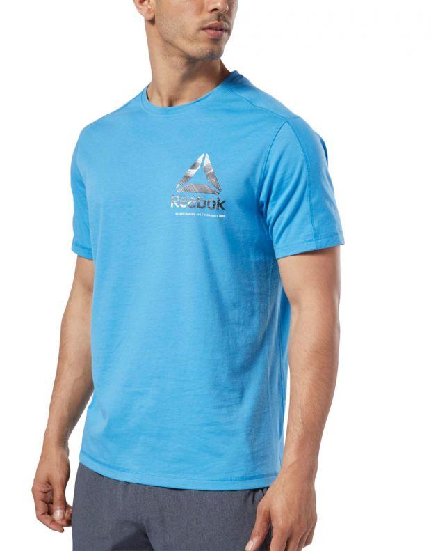 REEBOK One Series Training Speedwick Tee Blue - EC1029 - 3