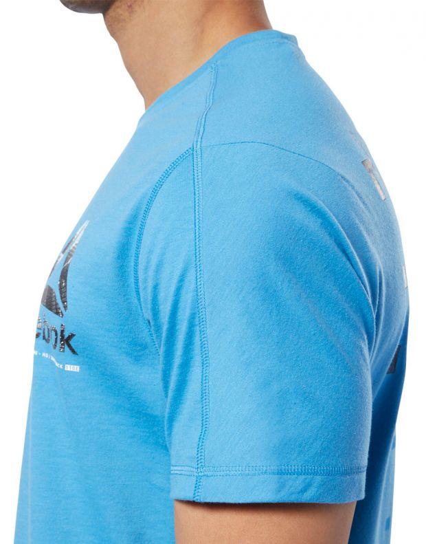 REEBOK One Series Training Speedwick Tee Blue - EC1029 - 5