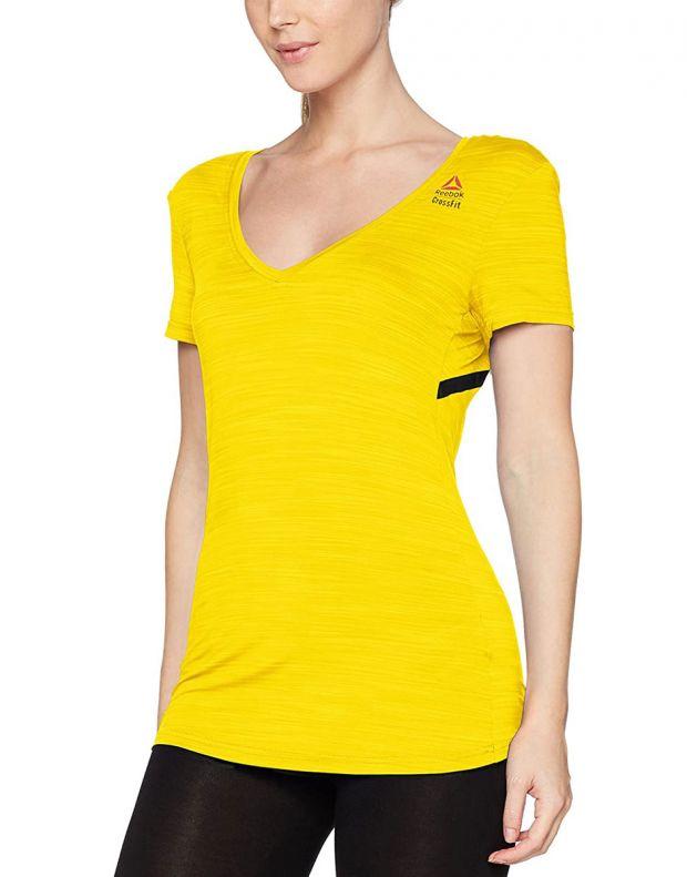 REEBOK Rc Activchill Tee Yellow - BQ7393 - 1