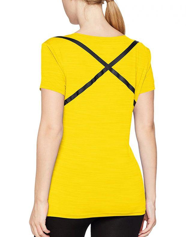 REEBOK Rc Activchill Tee Yellow - BQ7393 - 2