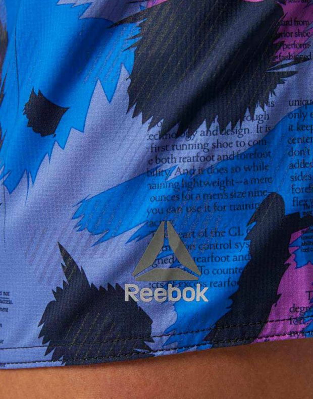 REEBOK Reflective Board Shorts Blue - BQ7661 - 6