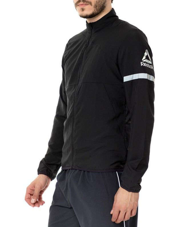 REEBOK Running Woven Jacket Black - CE9285 - 3