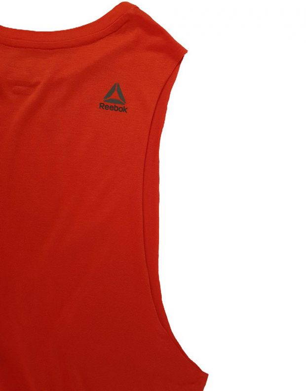 REEBOK S Faves Muscle Tank Red - BJ9712 - 5