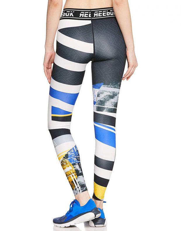 REEBOK Wor Meet You There Engineered Tights Blue - DP6679 - 2