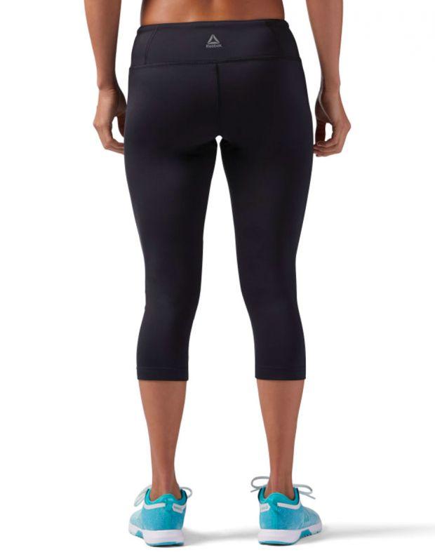REEBOK Workout Ready Capri Leggings Blavk - CE1221 - 2