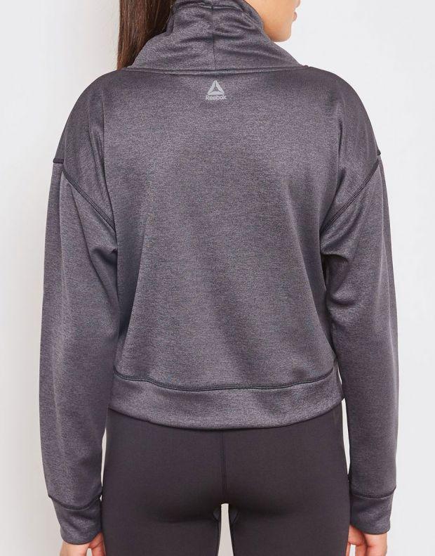 REEBOK Workout Ready Thermowarm Fleece Coverup Grey - D95051 - 2