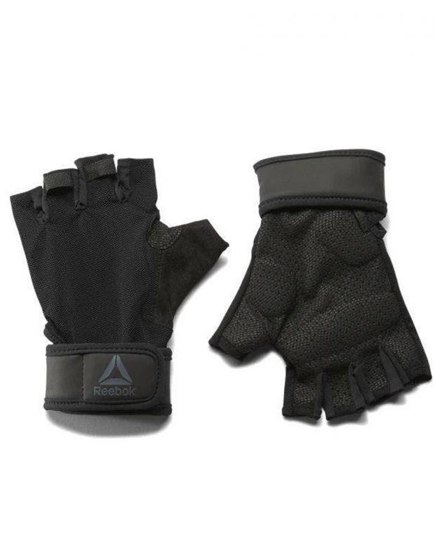 REEBOK Wrist Gloves Black - EC5655 - 1